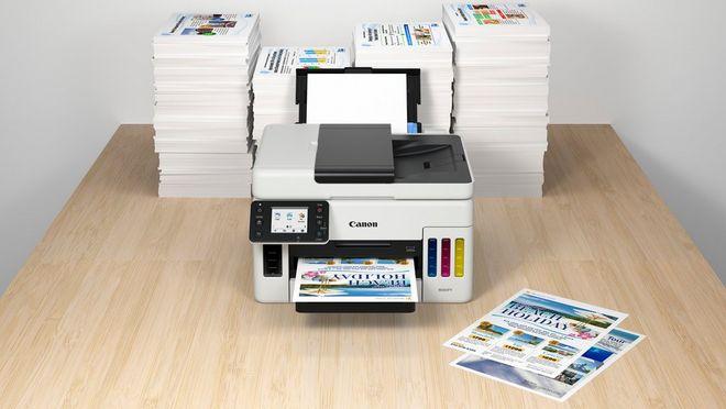 MAXIFY GX6050 şi MAXIFY GX7050 pentru imprimare la instituţii de învăţământ