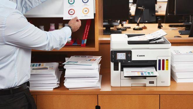 Imprimare de documente durabile cu MAXIFY GX6050 şi MAXIFY GX7050