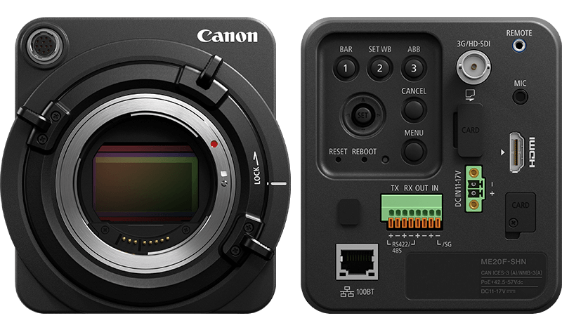 canon netzwerk- u00dcberwachungskamera me20f-shn f u00fcr den mehrzweckeinsatz - camcorders