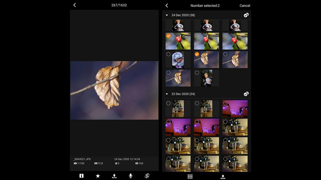 Aplicaţia Canon MFT