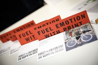 Fuel emotion with Print direct mail on desk