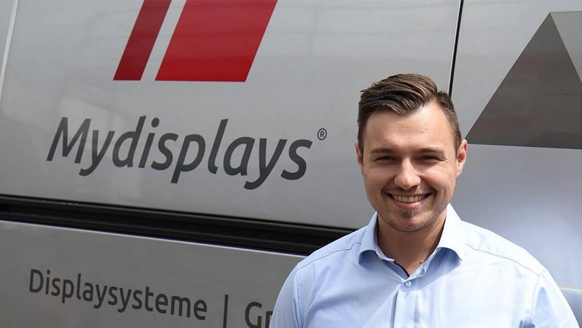 Peter Schaffarzyk, Managing Director,Mydisplays GmbH