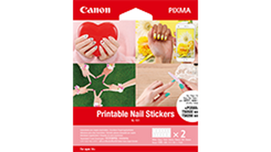 Printable Nail Stickers NL-101