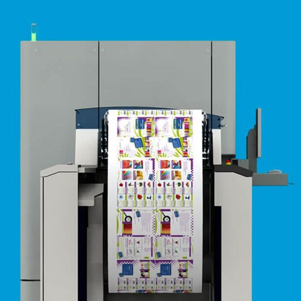 MSP streamlined production by replacing the colour cut-sheet printers with a digital inkjet solution.