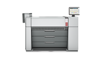 Océ ColorWave 910 single-pass inkjet colour plotter