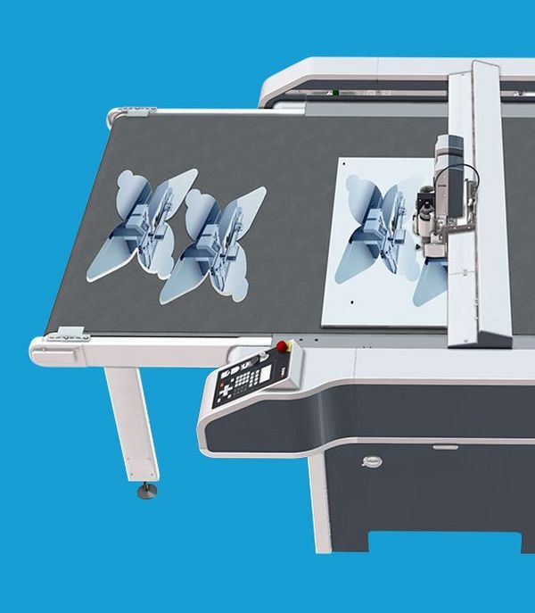 Highly accurate cutting tables that offer exceptional versatility and productivity for graphic applications