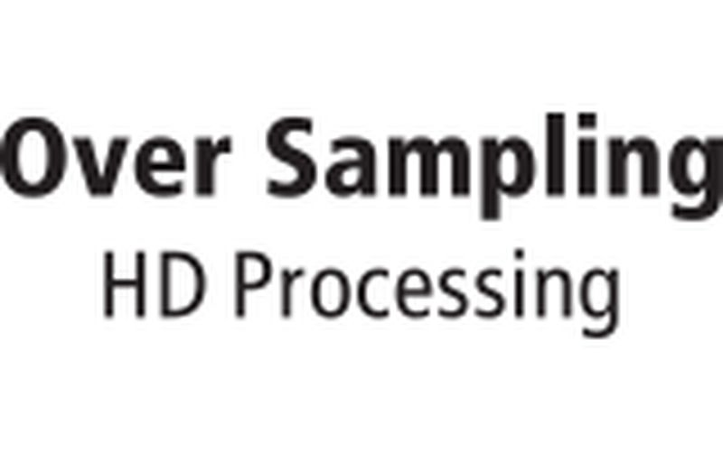Over Sampling HD Processing icon