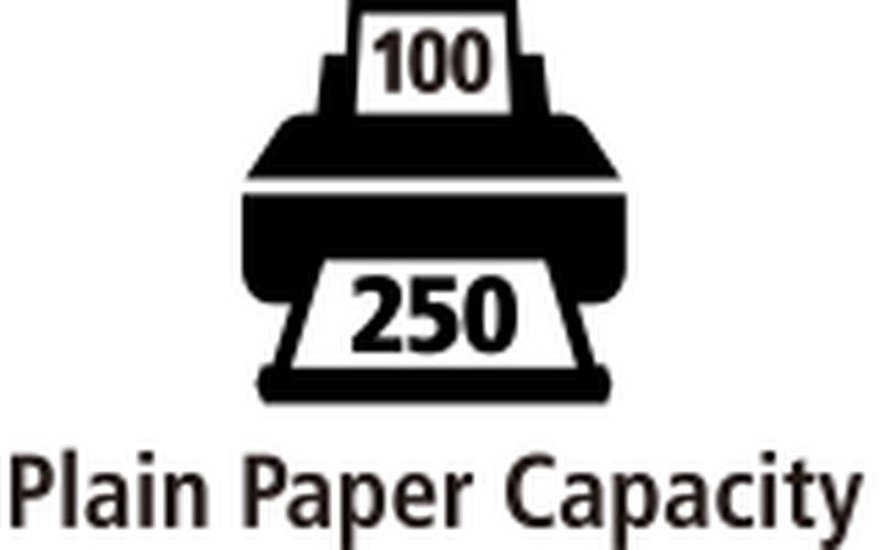 350-sheet input capacity