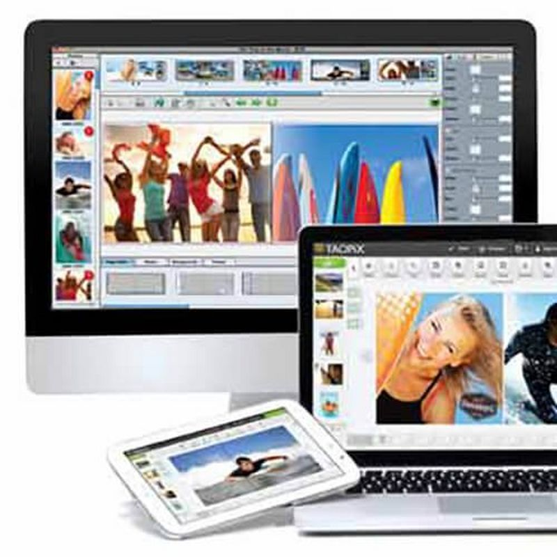 Photo printing software