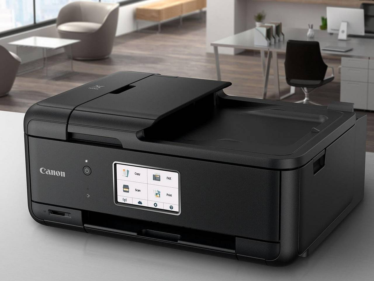 how to add canon printer