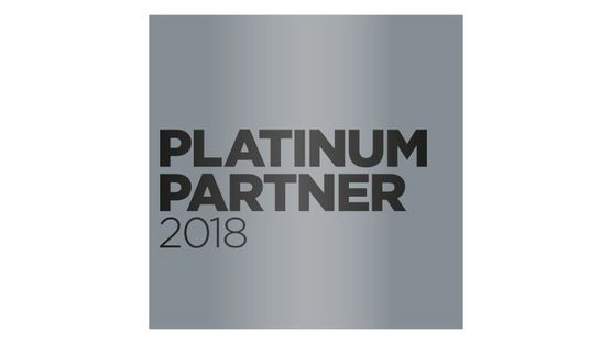 Platinum Partner 2018 logo