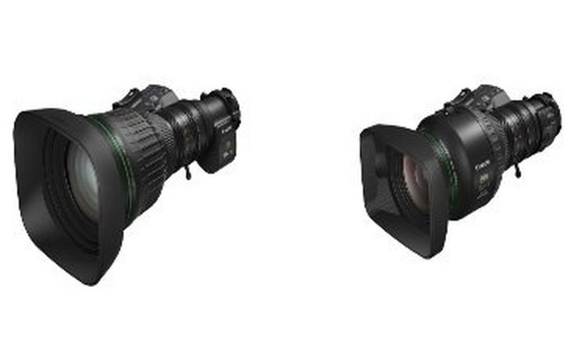 "Canon expands its UHDgc series with two world-first portable zoom lenses for 2/3"" format 4K broadcast cameras"