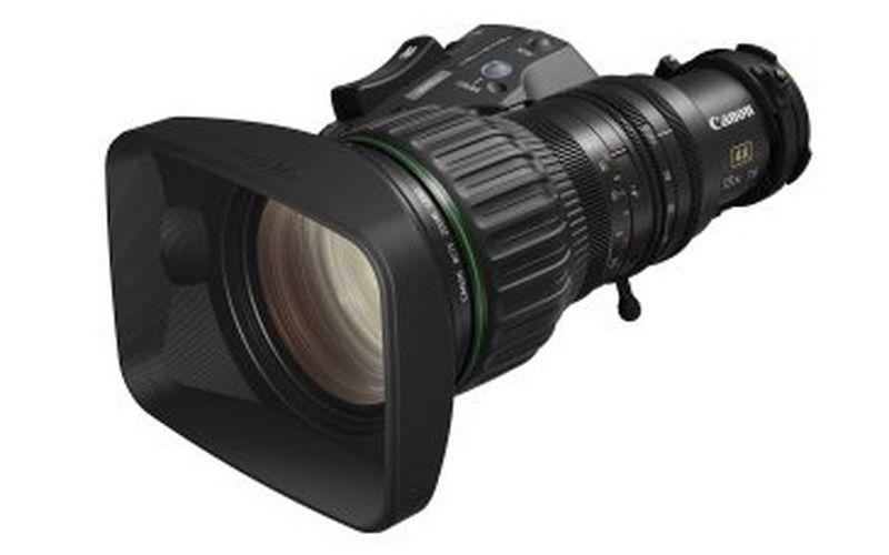 Easy operation, excellent image quality - Canon's CJ18ex7.6B KASE is the perfect compact lens for broadcast studio productions