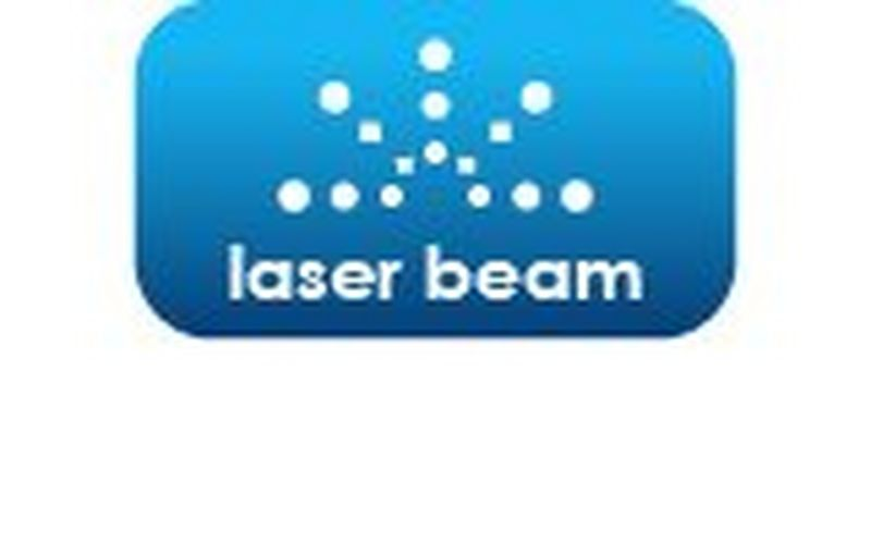 laser beam diameter of 8 mm from 5 m distance
