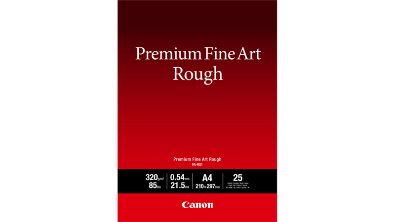Canon Premium Fine Art Rough Paper Specifications