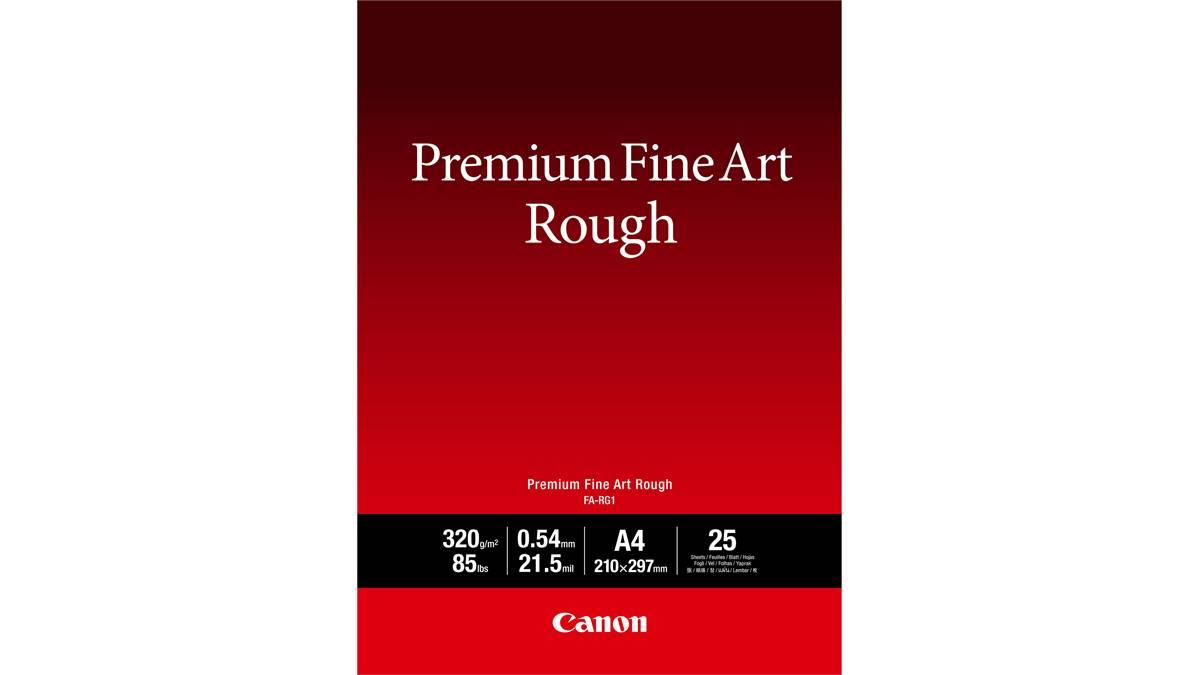 Premium fine art rough