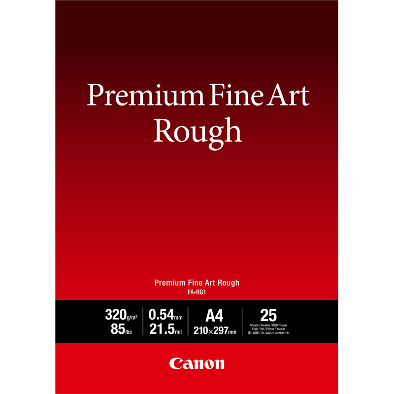 Premium fine art rough