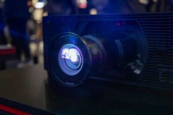 A Canon XEED laser projector.