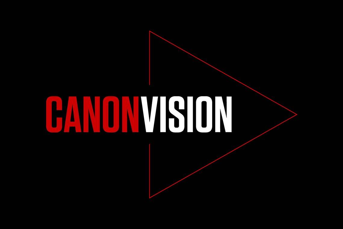 The Canon Vision logo.