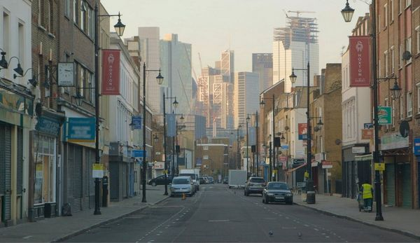 Hoxton Street, Hackney, a film still from Zed Nelson's The Street, filmed primarily on a Canon EOS C300 camera.