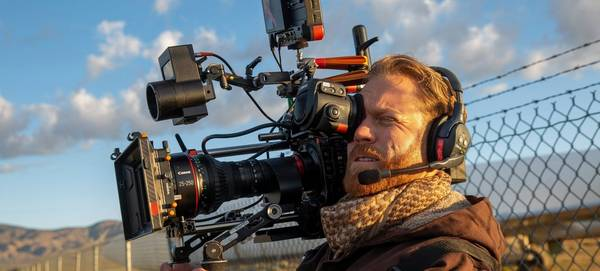 Steve Holleran using a Canon EOS C300 Mark III