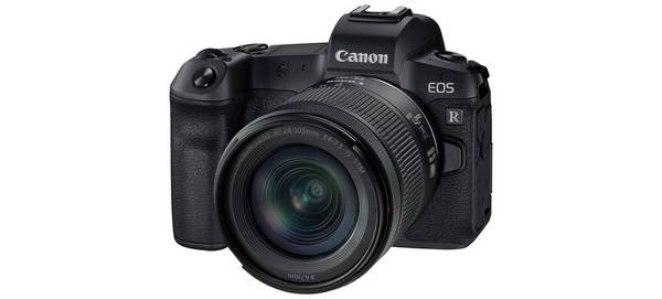 The Canon EOS R.