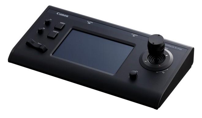 Le contrôleur de caméra à distance Canon RC-IP100.