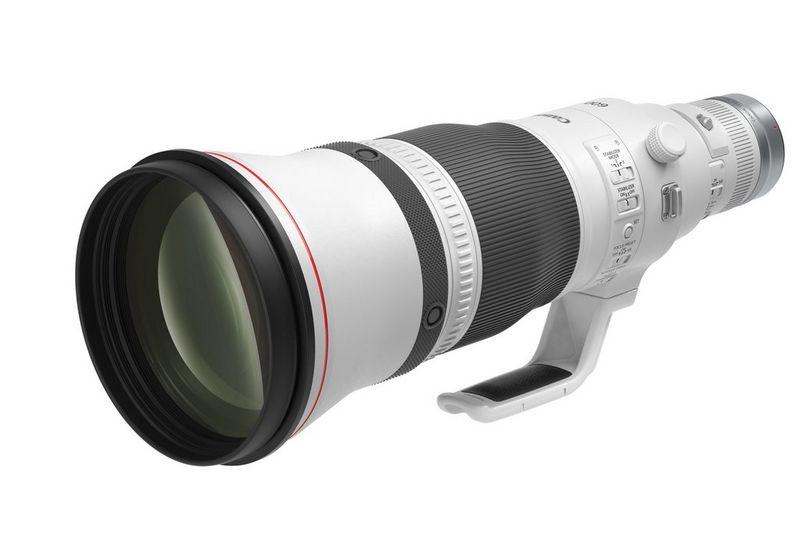 Objectif Canon RF 600mm F4L IS USM.