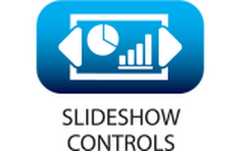 enables discrete control of presentation flow