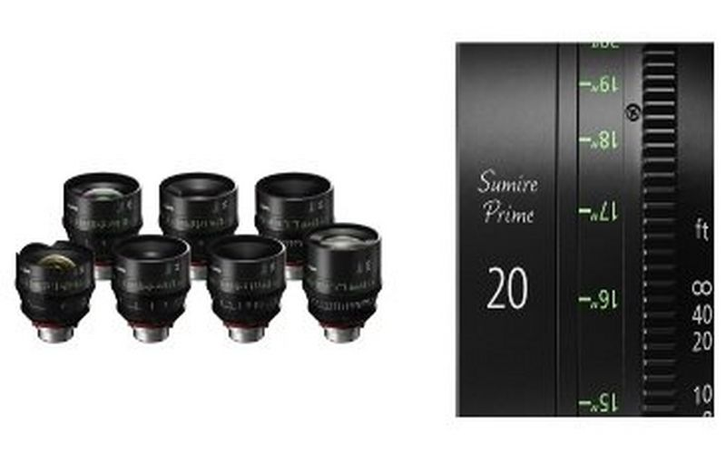 Canon launches Sumire Prime series – seven new PL mount cinema prime lenses