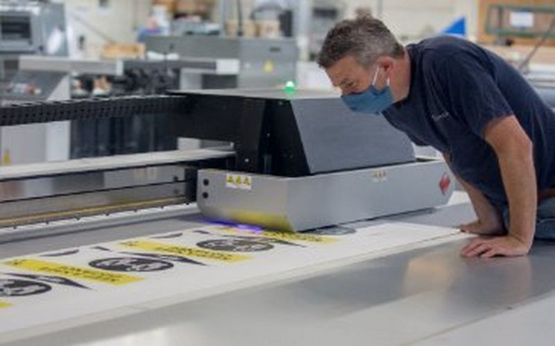 Claremon expands business into wide-format printing with the Canon Arizona 1380 XT