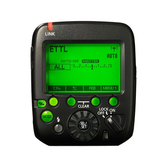 Speedlite Transmitter ST-E3-RT ver.2-display