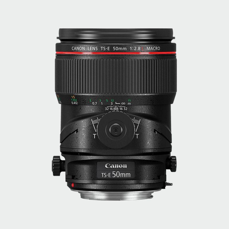 Canon TS-E 50mm f/2.8L MACRO L series Lense