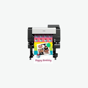 imagePROGRAF TX-2000 accurate signage & poster printer