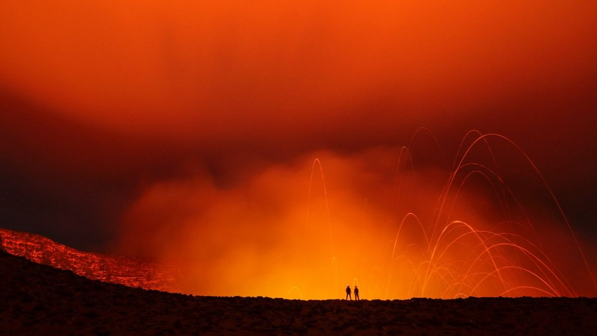 Vanuatu volcano lava captured on EOS 5D Mark IV