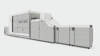 Océ VarioPrint i300 color inkjet sheetfed press