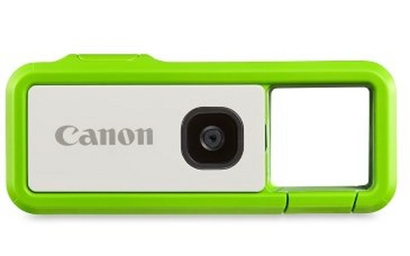 Waterproof* and Shockproof**: The Canon IVY REC activity camera embodies the spirit of the great outdoors