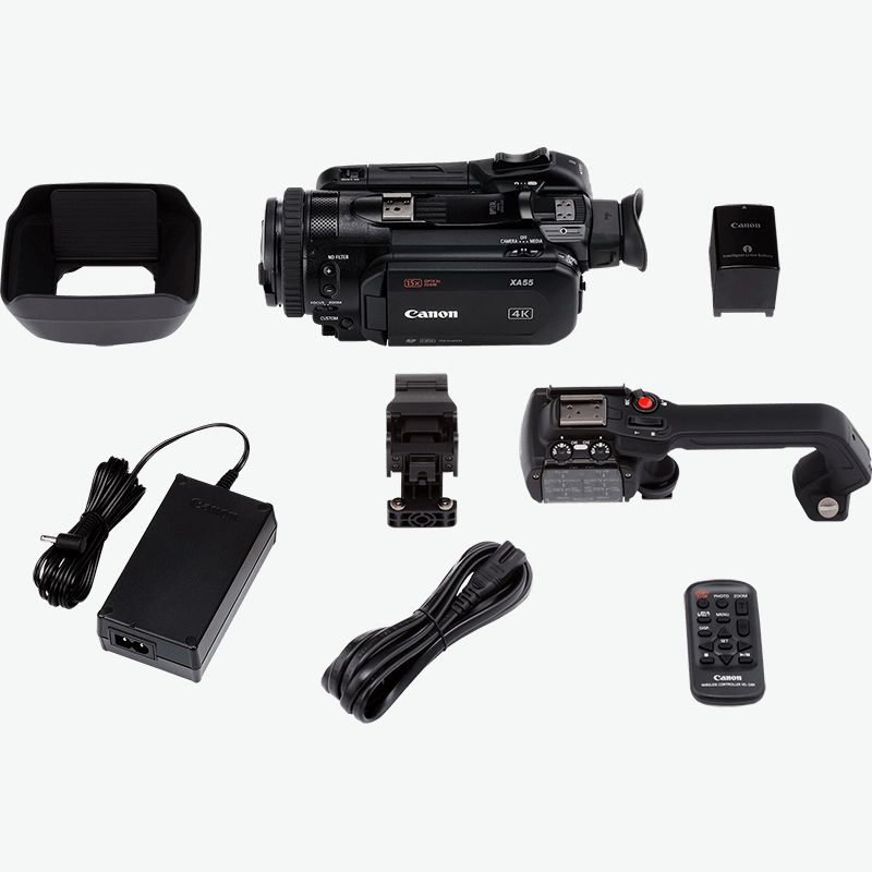 Canon XA50 Kutu İcerigi
