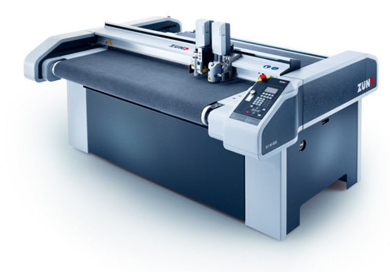 Zünd S-series flatbed cutter