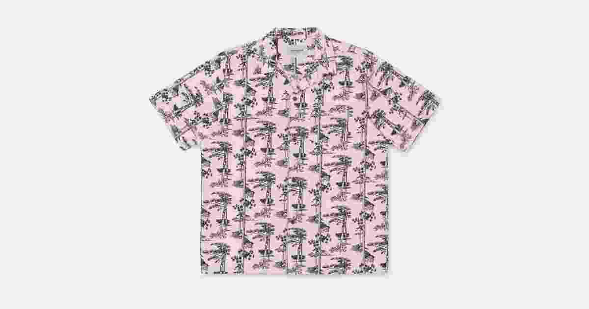 2125933e Carhartt WIP S/S Pine Hawaii Shirt | carhartt-wip.com