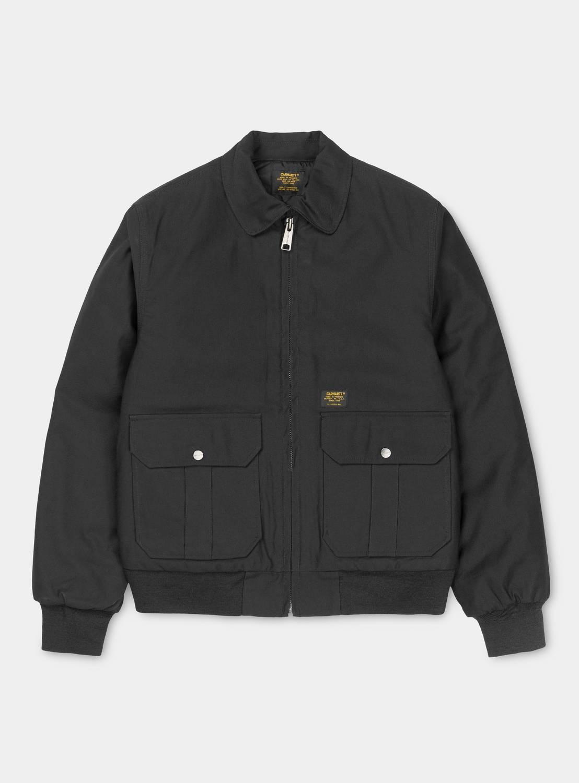 Carhartt pilot jacket black