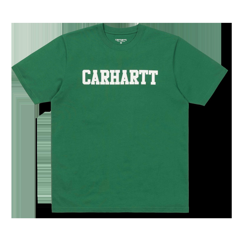 Carhartt College Logo T-Shirt White//Camo Men/'s T-Shirt with Carhartt Logo