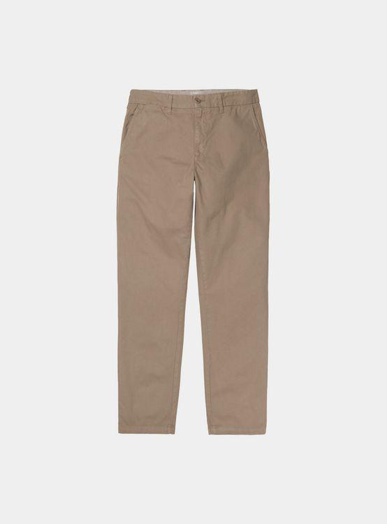 CARHARTT WIP JOHNSON Pant Leather Herren Chino Hose Beige