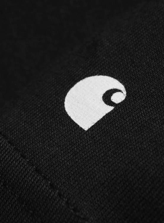 S//S Base T-Shirt Black White Carhartt WIP