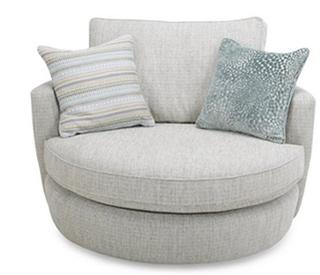 Grey Cuddler Sofa