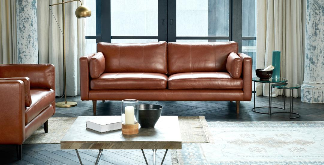Marl exclusive sofa from DFS