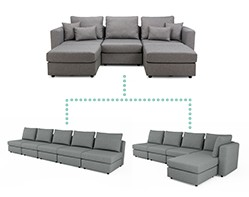 Sofables Various Sofa Layouts