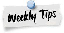 Weekly care tips