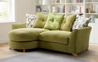 Abigail Pillow Back 4 Seater Lounger Sofa Escape