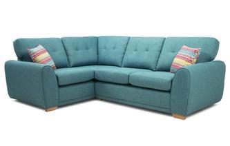 Right Hand Facing 2 Seater Corner Sofa
